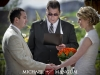 Eric and Loni's wedding ceremony and reception at Red Butte Gardens