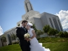 Matt and Lauren's wedding day at the Draper LDS Temple and recpetion at Blue Lemon.