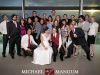 Matt and Rachel's wedding ceremony at First Unitarian Church and reception at the Tower at Rice-Eccles Stadium.